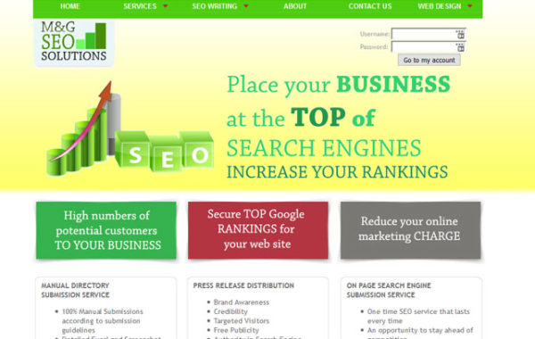 SEO Services Template